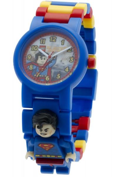 Часы наручные LEGO DC Comics Супермен + минифигурка (8020257)