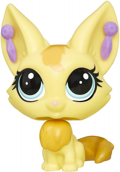 Фигурка-зверюшка Littlest pet shop лисичка-фенек Zeda Sandy,  B8505/A8228