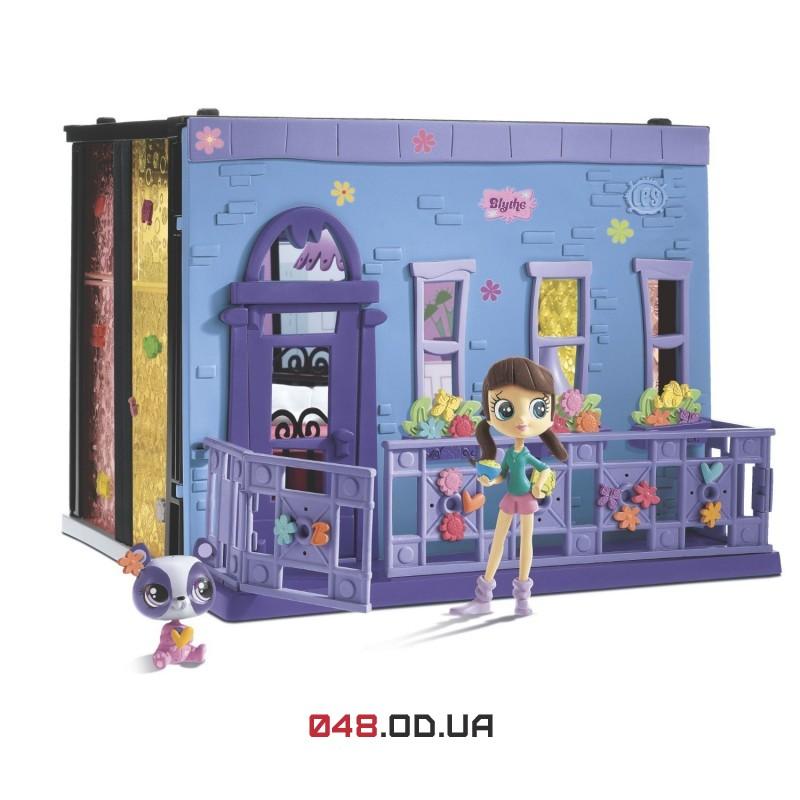 Игровой набор Littlest Pet Shop стильная спальня Блайс + панда Пенни Линг