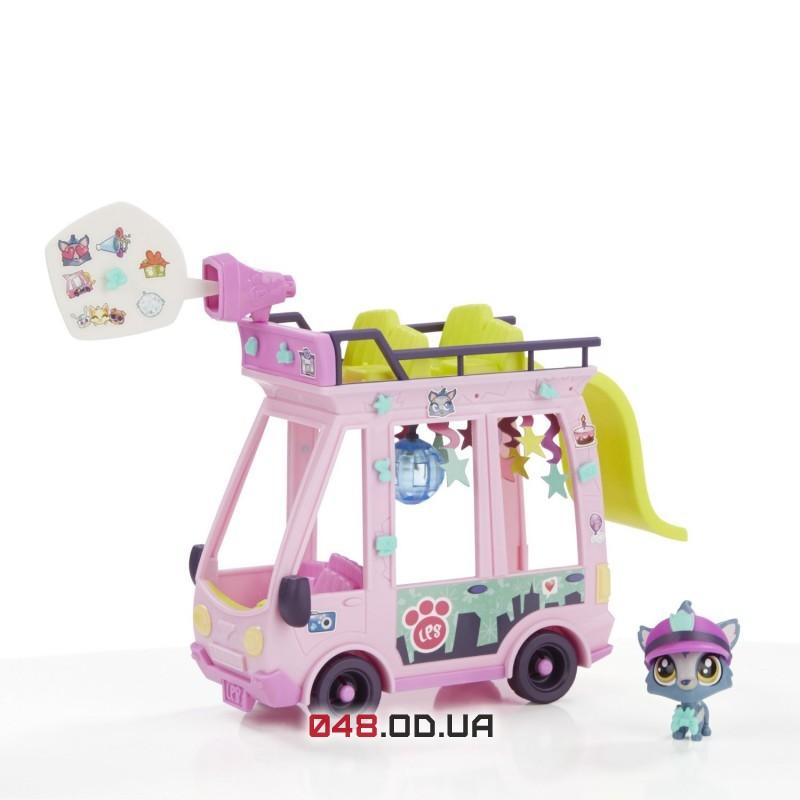Игровой набор Littlest pet shop Автобус B3806