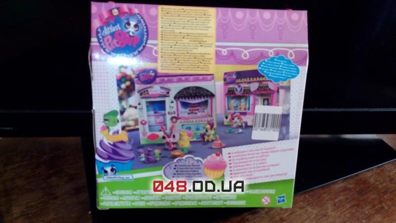 Игровой набор Littlest pet shop пекарня сладких деликатесов мини-коллекция A1354/A1351