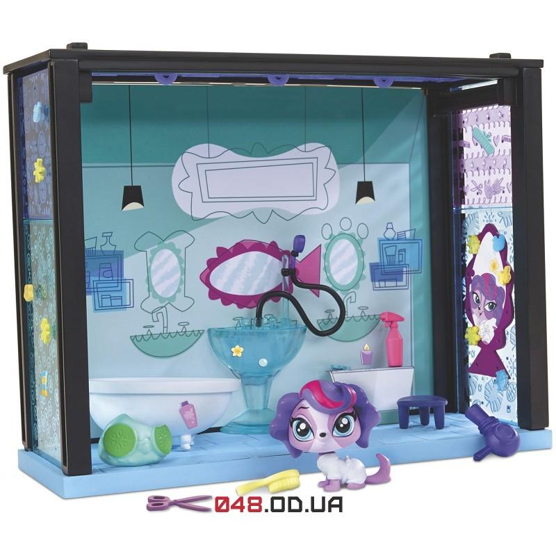Игровой набор Littlest pet shop Стильный Спа-салон Зои Трент A8542/A7641
