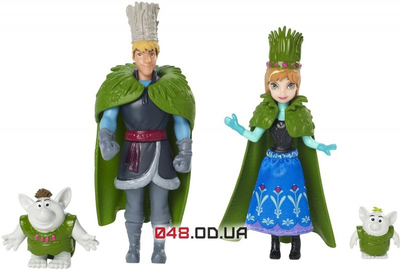 Игровой набор  Анна и Кристоф Mattel мини-куколы Свадебное торжество (Frozen,Холодное сердце)