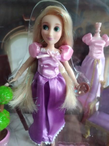 Игровой набор Дисней мини кукла Рапунцель и аксессуары