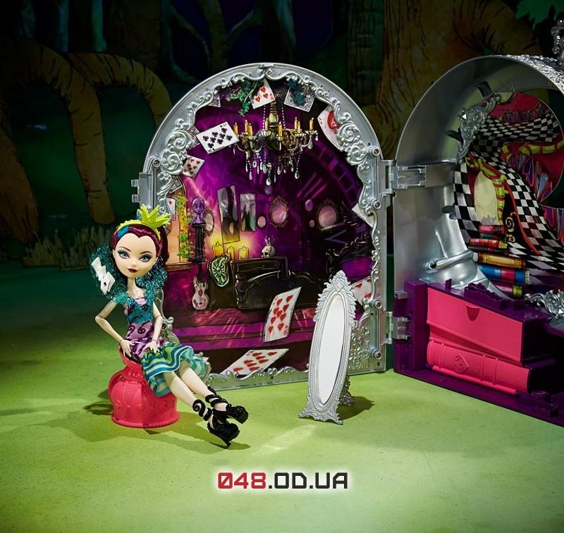 Игровой набор Ever after high Школа Рейвен Квин из серии Дорога в Страну Чудес (Way Too Wonderland High and Raven Queen Playset)