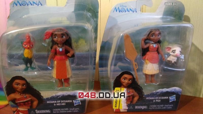 Игровой набор Hasbro мини-кукла Моана и поросёнок Пуа