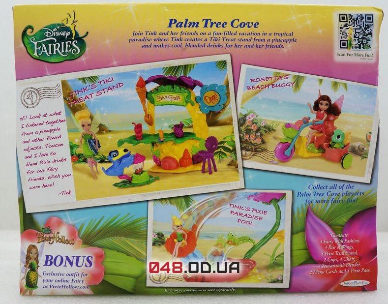 Игровой набор Jakks Pacific пляжная веечринка феи дисней Динь-Динь (Disney Fairies Tink's Pixie Treats Stand )