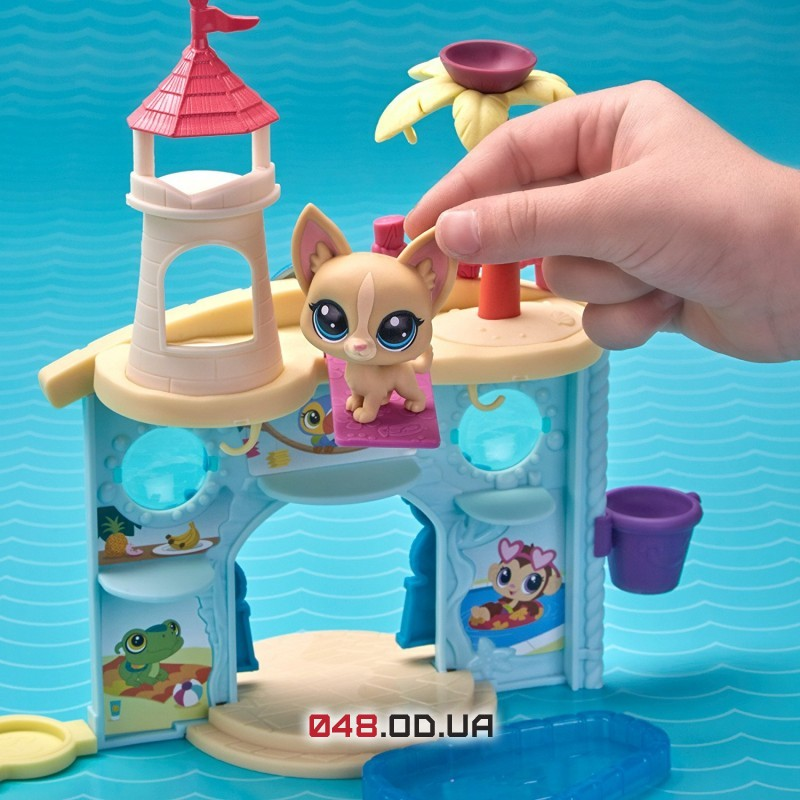 Игровой набор littlest pet shop Аквапарк