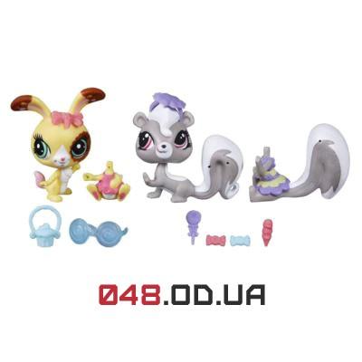Игровой набор зверушек littlest pet shop модники и модницы (Sweet Shoppe Afternoon) с аксессуарами