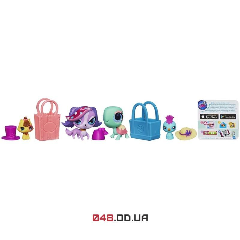 Игровой набор Littlest Pet Shop Сладкий шоппинг собачки Зои Трент и черепашка (A1353)