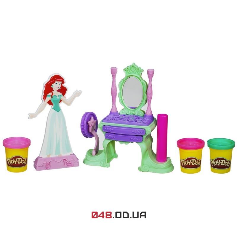 Игровой набор пластилина Play-doh принцесса дисней русалочка Ариэль
