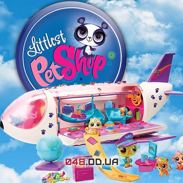 Игровой набор реактивный самолет для зверушек Littlest pet shop B1242
