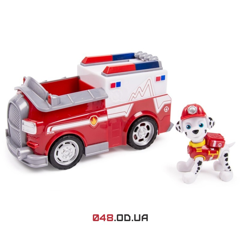 Игровой набор Spin master Щенячий патруль долматинец Маршалл и пожарная машина