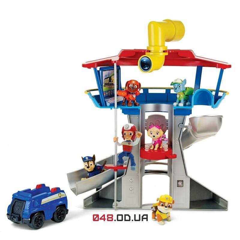 Игровой набор спасательная станция-офис Spin master Щенячий патруль (Paw Patrol look-out playset)