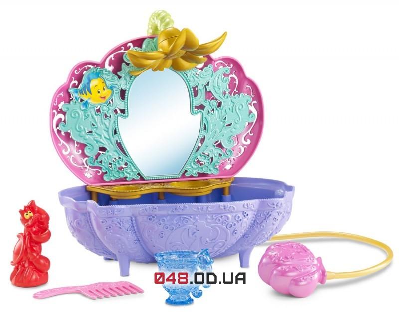 Игровой набор Mattel ванная русалочки Ариель с аксессуарами (БЕЗ куклы)