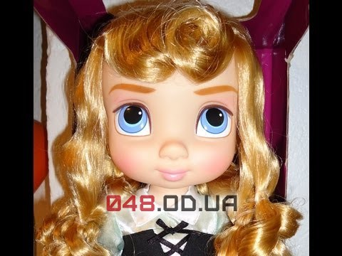 Кукла-аниматор Дисней принцесса Аврора с питомцем, 40 см