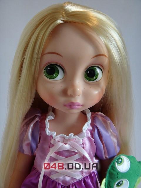 Кукла-аниматор Дисней принцесса Рапунцель с питомцем, 40см
