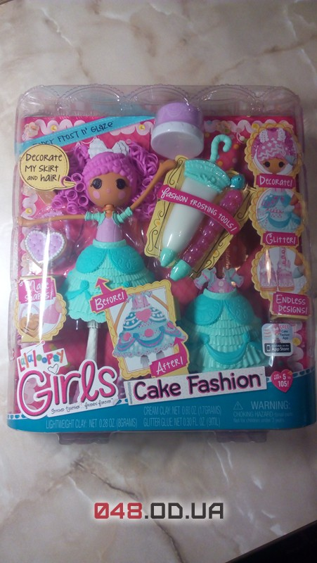 Игровой набор кукла Lalaloopsy Глазуринка Сладкая фантазия с аксессуарами 25 см