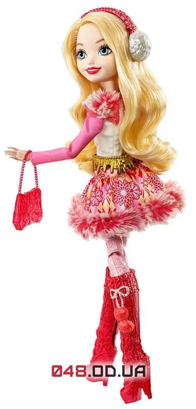 Кукла Ever After High Эпл Вайт Эпическая зима (Epic Winter Apple White Doll), DPG88