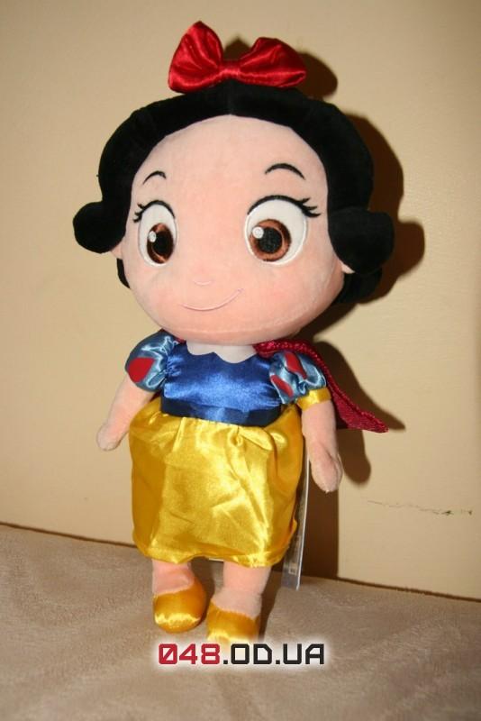 Кукла плюшевая принцесса Дисней Белоснежка, 33 см.