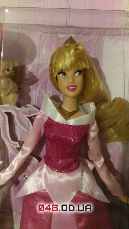Кукла принцесса дисней Аврора с питомцем - белочка, шарнирная 30 см.
