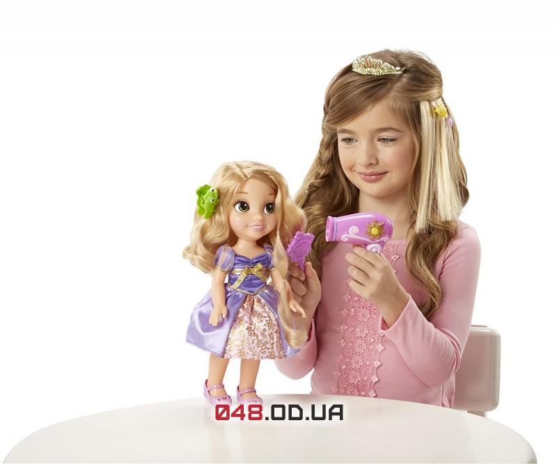 Игровой набор JakksPacific Кукла Рапунцель стильная с феном и аксессуарами