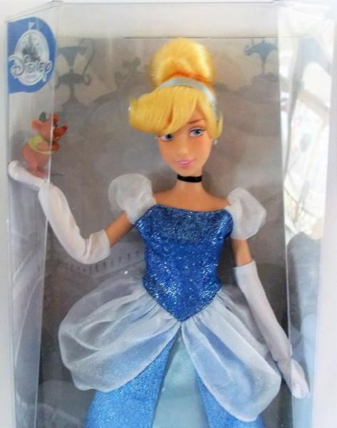 Кукла принцесса Дисней Золушка с питомцем (мышенок Гас) выпуск 2017 г.