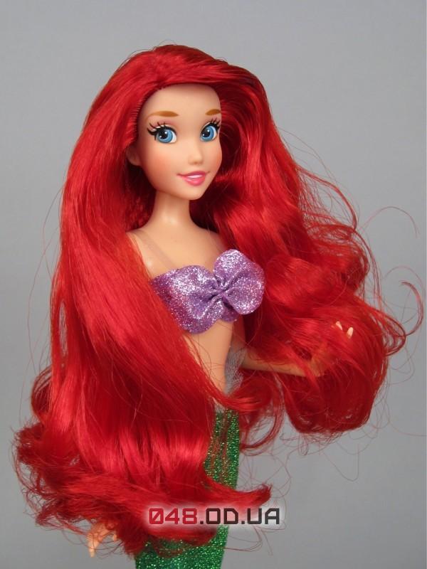 Кукла принцесса дисней русалочка Ариэль классическая, шарнирная, 30 см.