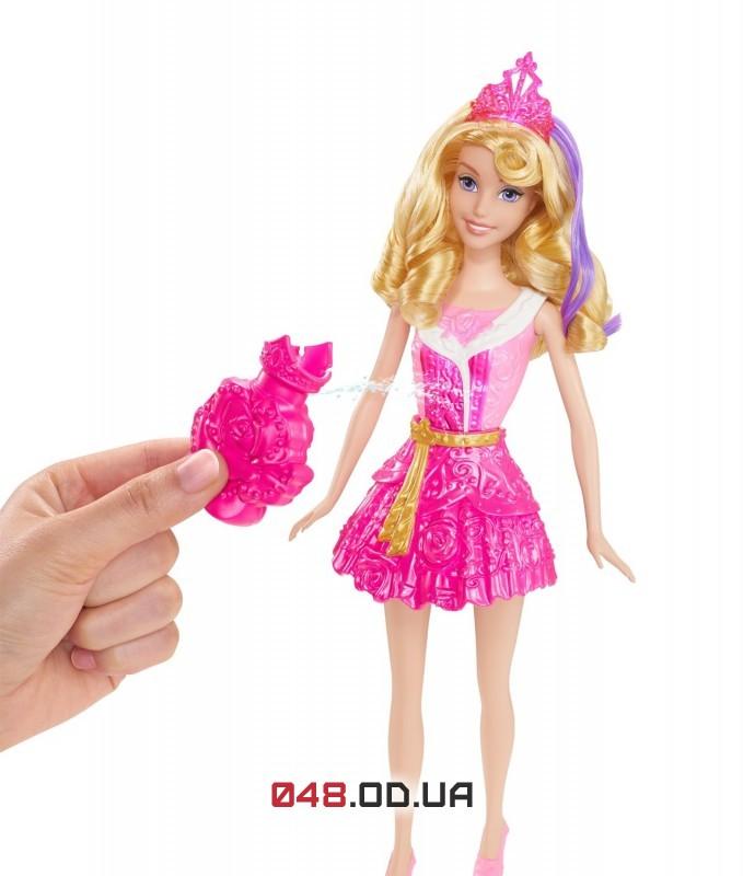 Кукла принцесса дисней Аврора Mattel меняет цвет платья и пряди волос в воде