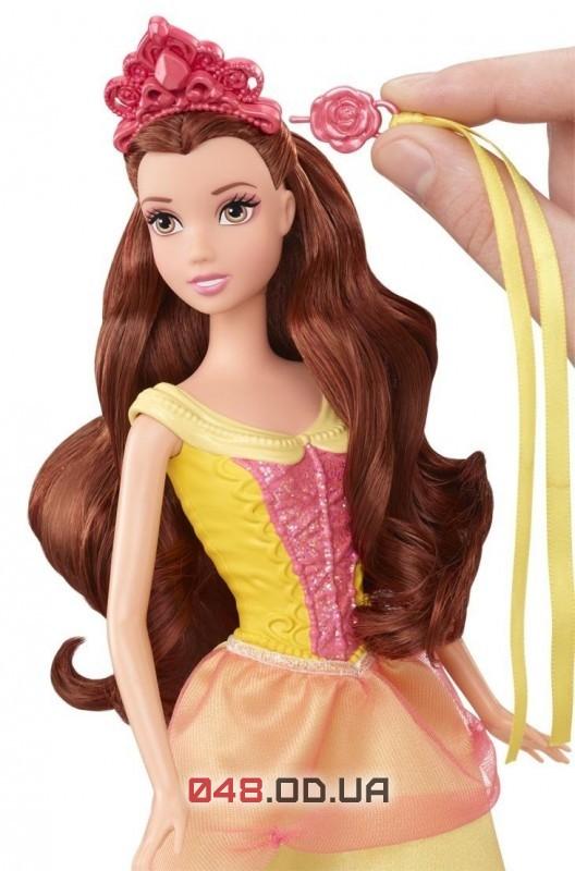 Кукла принцесса Белль Mattel Snap'nStyle (Модные прически)