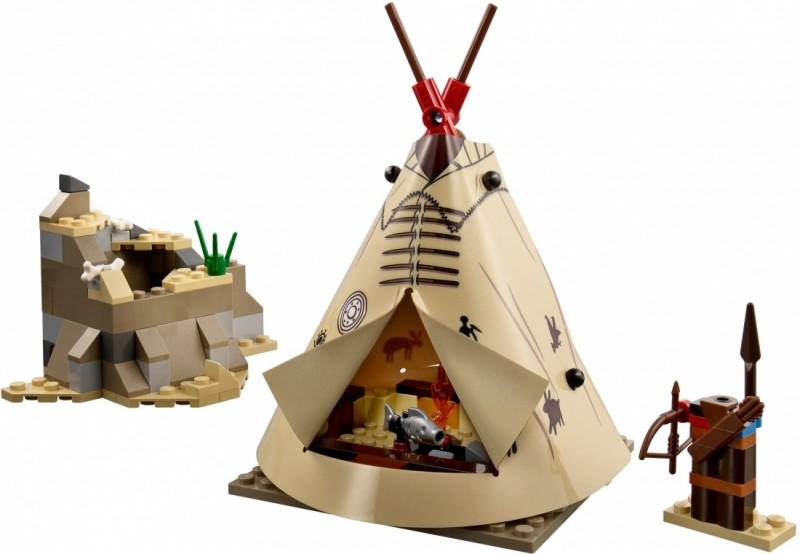 LEGO The Lone Ranger Лагерь Команчи (79107)