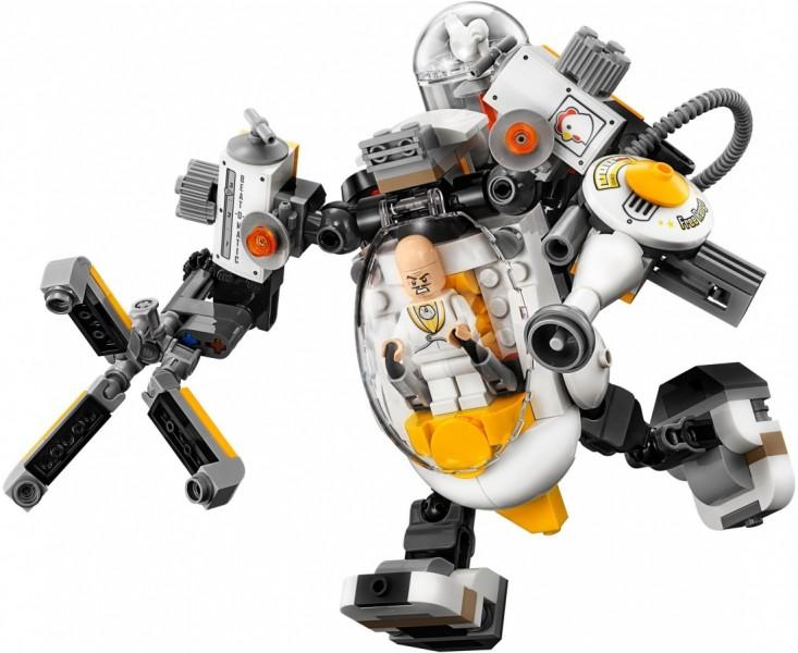 THE LEGO BATMAN MOVIE Бой с роботом Яйцеголового (70920)