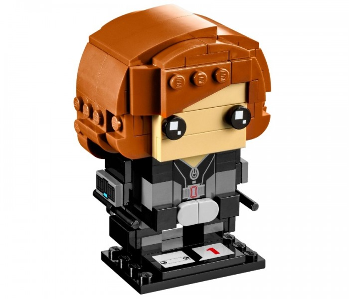LEGO Brick Headz Чёрная Вдова (41591)