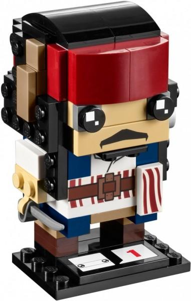 LEGO Brick Headz Капитан Джек Воробей (41593)