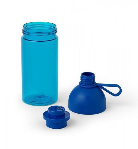 LEGO бутылочка для воды полупрозрачная, синяя 500 мл (25625379)
