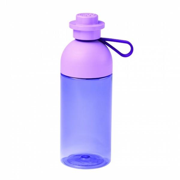 LEGO бутылочка для воды полупрозрачная, красная с ручкой 500 мл (40420001)