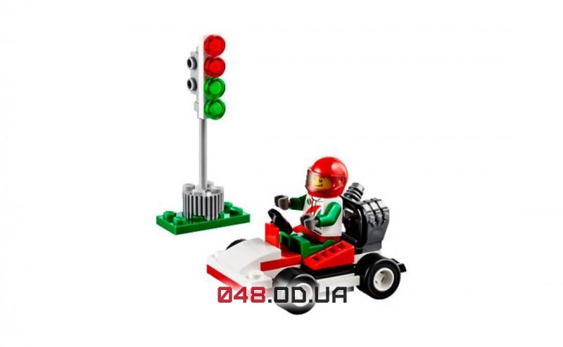 LEGO City Карт-гонщик полибег (30314)