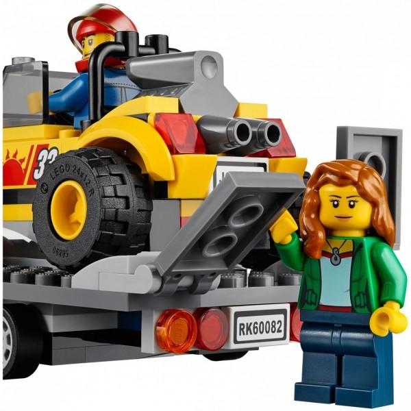 LEGO City Перевозчик песчаного багги (60082)