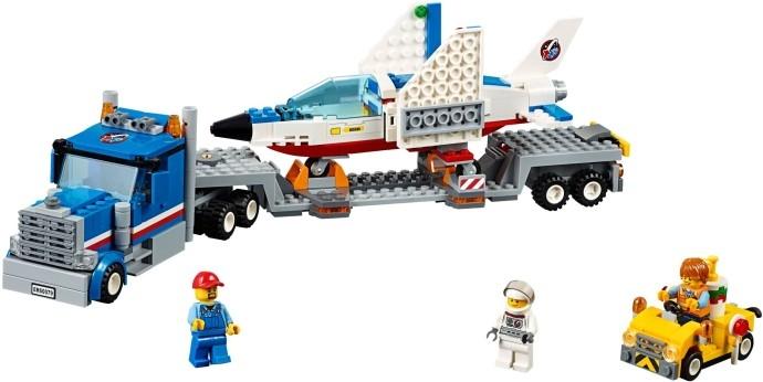 LEGO City Транспортер для учебных самолетов (60079)