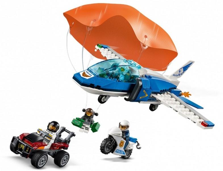LEGO City  Воздушная полиция: Арест парашютиста (60208)