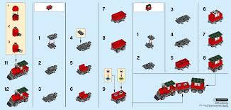 LEGO Creator Рождественский поезд (30543)