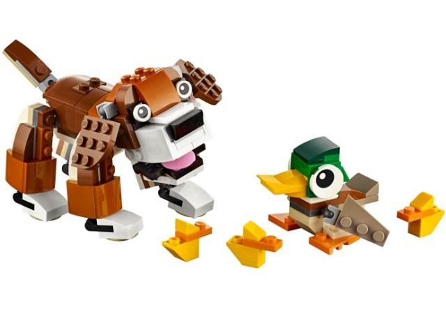 LEGO Creator Животные в парке (31044)