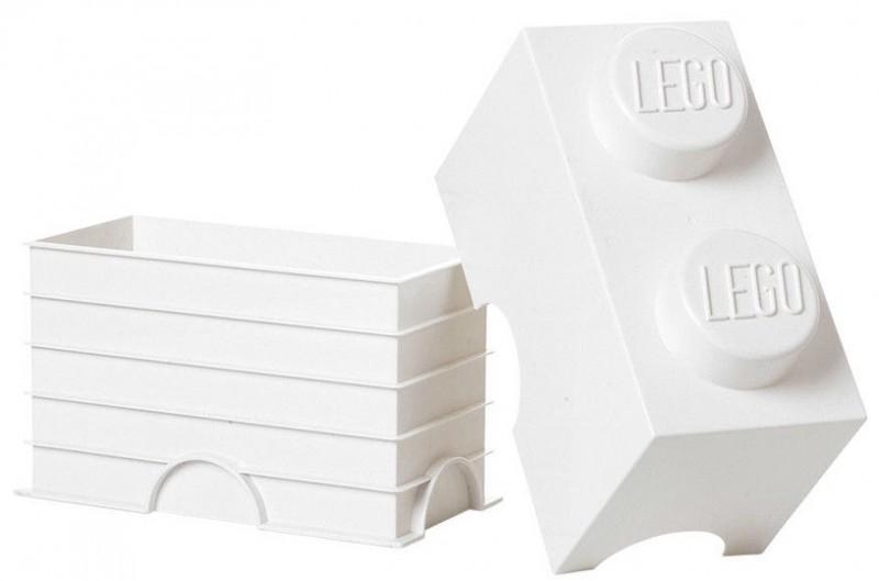 LEGO Двуточечный бокс для хранения конструктора, белый