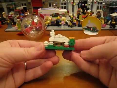 LEGO елечная игрушка шар пустой