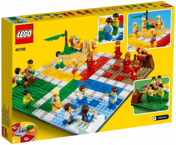LEGO Iconic Настольная игра «Лудо» (40198)