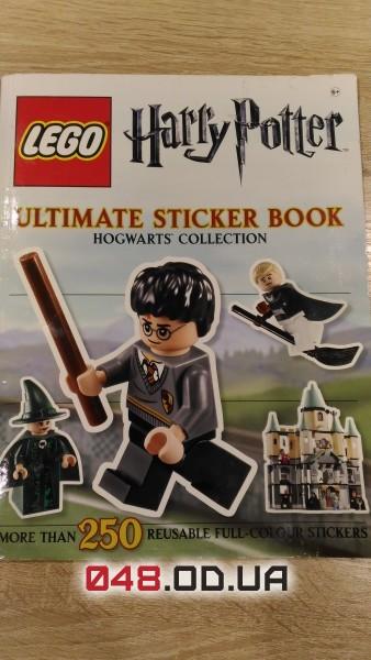 LEGO книжка б/у с наклейками Гарри Поттер