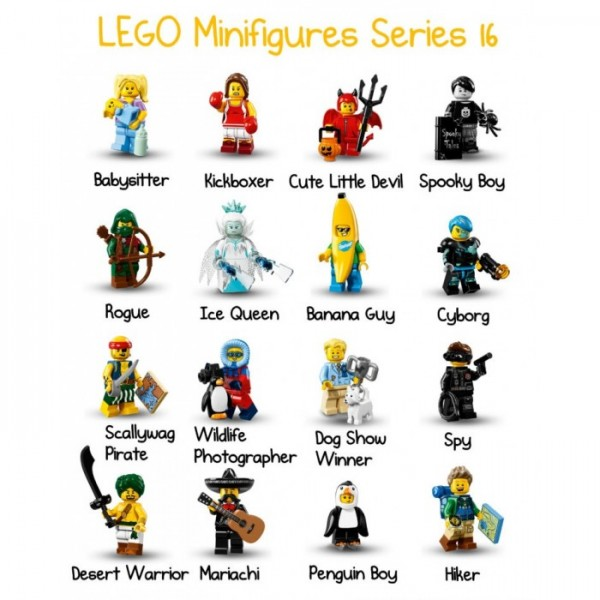 LEGO Minifigures Арабский воин (71013-2)