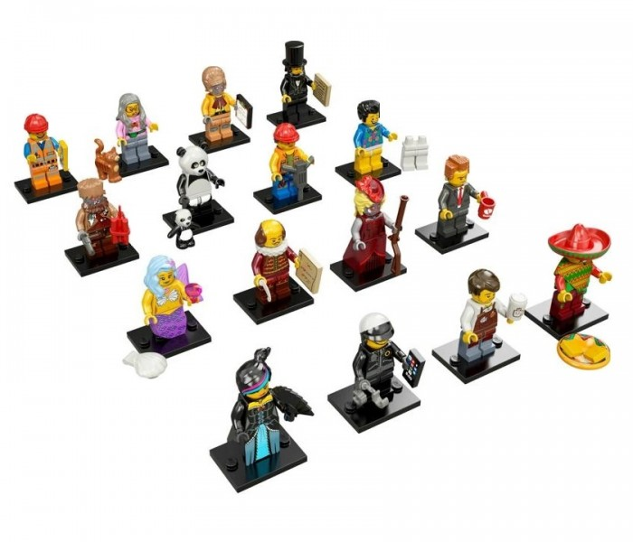 LEGO Minifigures Бариста Ларри (71004-10)