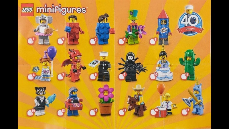 LEGO Minifigures Девочка на Дне рождения (71021-6)
