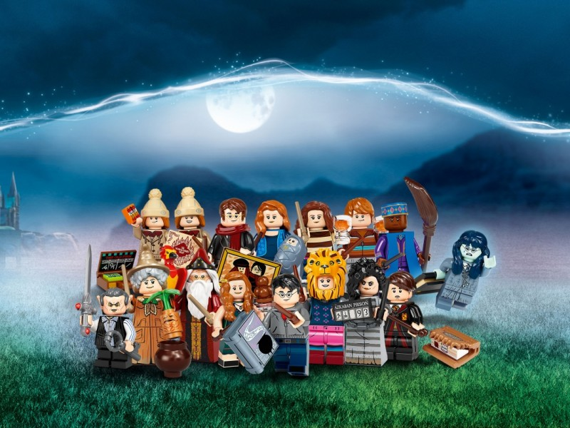 LEGO Minifigures Гарри Поттер (71028_1)